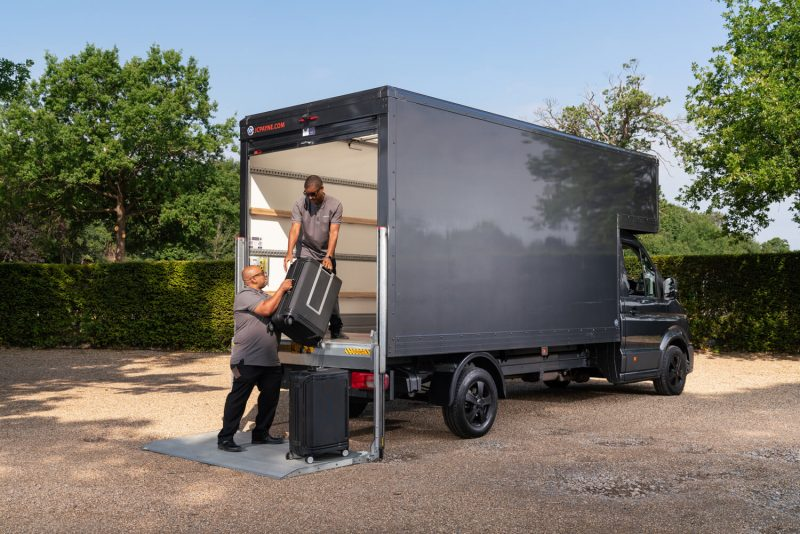 VW Crafter Luton Box Van